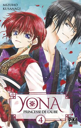 Couverture du livre : Yona, princesse de l'aube, Tome 4