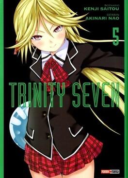 Couverture du livre : Trinity Seven, Tome 5