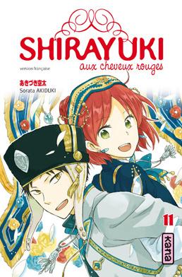 Couverture du livre : Shirayuki aux cheveux rouges, Tome 11