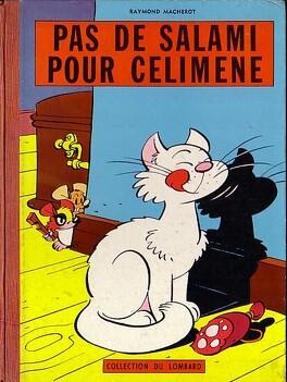 Couverture du livre : Chlorophylle, Tome 3 : Pas de salami pour Célimène
