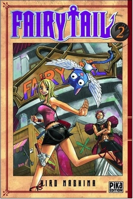 Couverture du livre : Fairy Tail, Tome 2