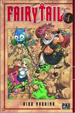Couverture du livre : Fairy Tail, Tome 1