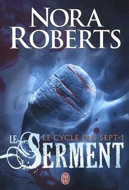Couverture du livre : Le Cycle des Sept, tome 1 : Le Serment