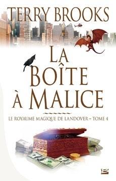 Couverture du livre : Le Royaume magique de Landover, Tome 4 : La Boîte à malice