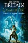couverture Cavalier vert, Tome 2 : La Première Cavalière