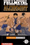 couverture Fullmetal Alchemist, tome 15