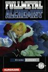 couverture Fullmetal Alchemist, tome 16