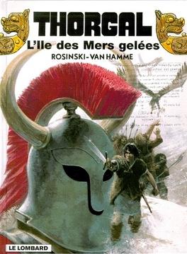 Couverture du livre : Thorgal, tome 2 : L'Île des mers gelées