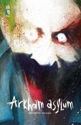 Couverture du livre : Batman Arkham Asylum