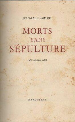 Couverture du livre : Morts sans sépulture