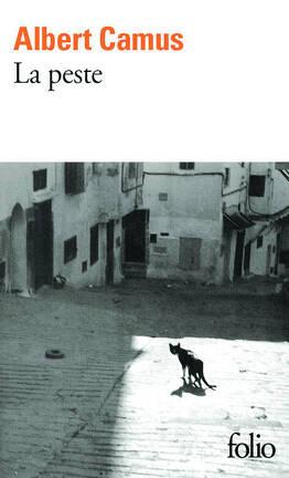 Couverture du livre : La Peste