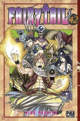 Couverture du livre : Fairy Tail, Tome 42
