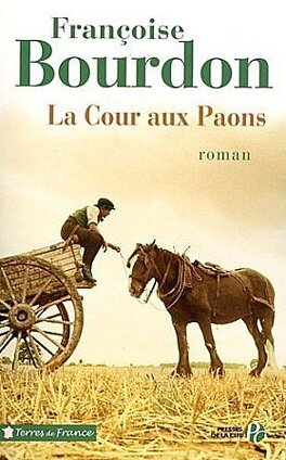 Couverture du livre : La cour aux paons