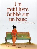 Un petit livre oublié sur un banc