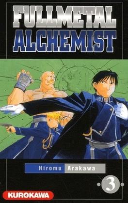 Couverture du livre : Fullmetal Alchemist, Tome 3