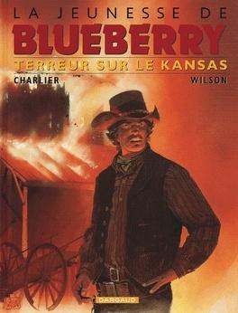 Couverture du livre : La Jeunesse de Blueberry, tome 5 : Terreur sur le Kansas