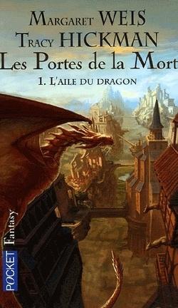 Couverture du livre : Les Portes de la Mort, tome 1 : L'aile du dragon