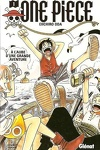 couverture One Piece, Tome 1 : À l'aube d'une grande aventure