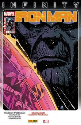 Couverture du livre : Iron man (marvel now) n°13