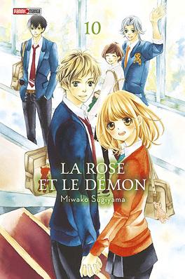 Couverture du livre : La Rose et le Démon, Tome 10 fin