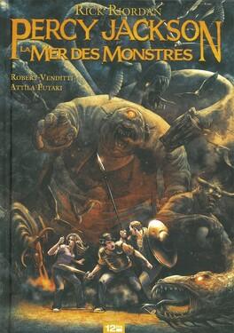 Couverture du livre : Percy Jackson, Tome 2 : La Mer des Monstres (Bd)