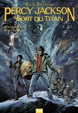 Couverture du livre : Percy Jackson, tome 3 : Le sort du Titan (Bd)
