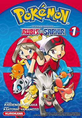 Couverture du livre : Pokémon, la grande aventure - Rubis et Saphir, tome 1