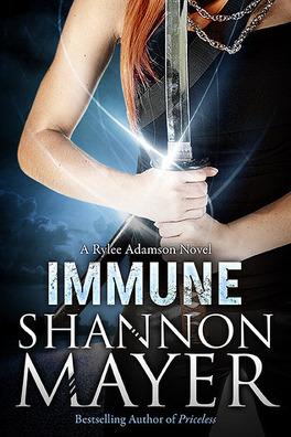 Couverture du livre : Rylee Adamson, Tome 2 : Immune