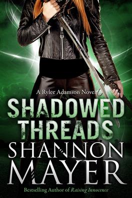 Couverture du livre : Rylee Adamson, Tome 4 : Shadowed Threads
