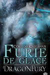 couverture Dragonfury, Tome 2 : Furie de Glace