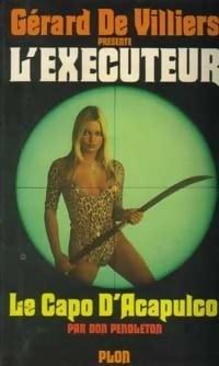 Couverture du livre : L'Exécuteur-26- Le capo d'Acapulco