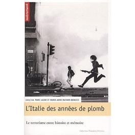 Couverture du livre : L'Italie des années de plomb