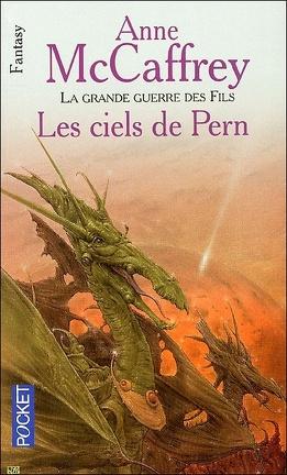 Couverture du livre : La Ballade de Pern, Tome 16 : Les Ciels de Pern