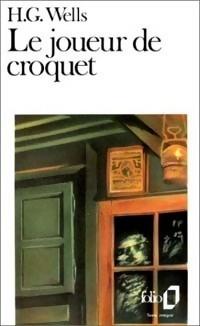 Couverture du livre : Le joueur de croquet