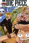 couverture One Piece, Tome 7 : Vieux machin