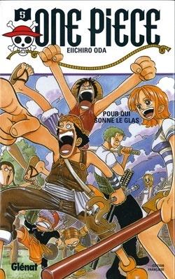 Couverture du livre : One Piece, Tome 5 : Pour qui sonne le glas