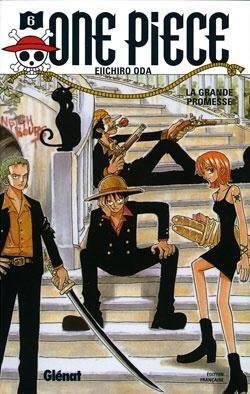 Couverture du livre : One Piece, Tome 6 : Le Serment