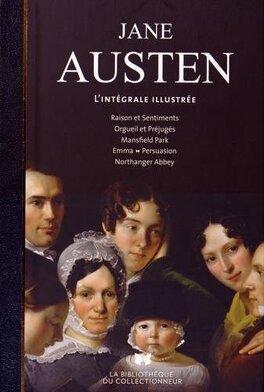 Couverture du livre : Jane Austen - L'intégrale illustrée