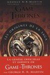 couverture Game of Thrones : Les origines de la saga