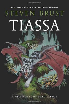 Couverture du livre : Les aventures de Vlad Taltos, tome 13 : Tiassa
