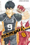couverture Haikyū !! Les As du volley, Tome 8
