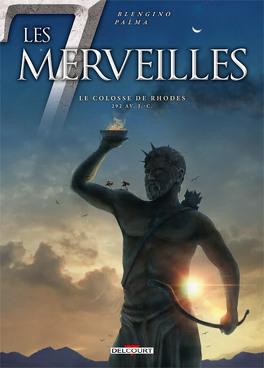 Couverture du livre : Les 7 merveilles, tome 7 : Le Colosse de Rhodes