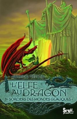 Couverture du livre : L'elfe au dragon, Tome 3 : Sorciers des mondes glauques
