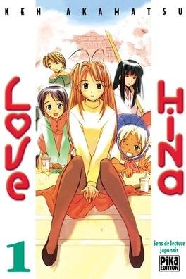 Couverture du livre : Love Hina, tome 1