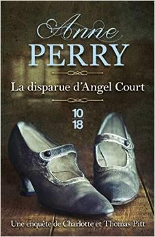 Couverture du livre : La disparue d'Angel Court