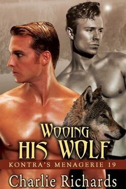 Couverture de Kontra's Menagerie, Tome 19 : Wooing His Wolf