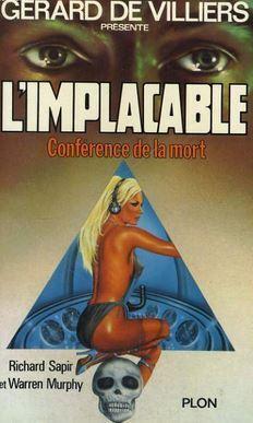 Couverture du livre : L'Implacable, Tome 8 : Conférence de la mort