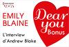 Dear You - Bonus : L'interview Andrew Blake