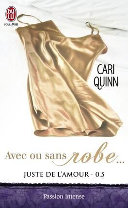 Couverture du livre : Juste de l'amour, Tome 0.5 : Avec ou sans robe...
