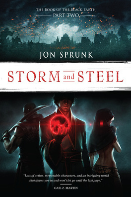 Couverture du livre : The Book of the Black Earth, Tome 2 : Storm & Steel